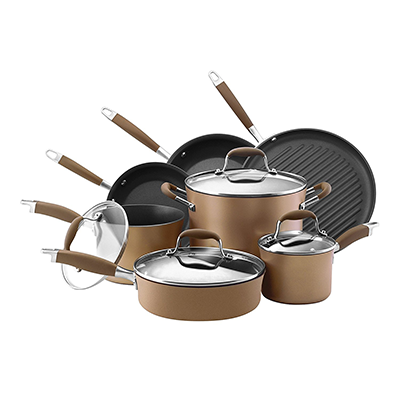 Anolon Advanced Bronze Non-stick Cookware Set