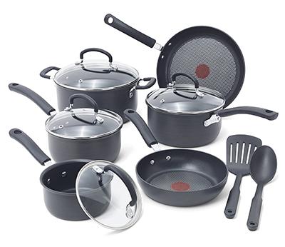 T-fal E765SC Cookware Set