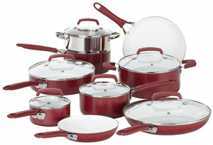 WearEver C943SF Pure Living Non-stick Cookware Set