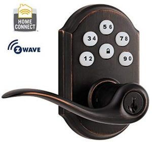 Kwikset 912 Z-Wave SmartCode Electronic Touchpad Garage Door Lock
